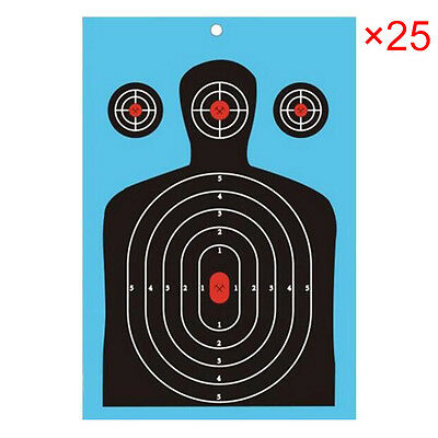 25x Splatter Shooting Targets Paper Spot Vegas Bow Archery Accessory Hot Sale