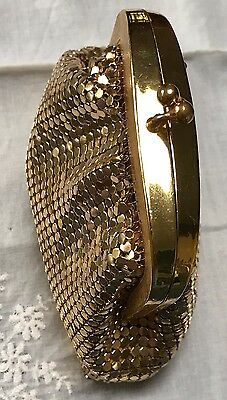 Vintage 1960 Unused OROTON GOLD MESH WEST GERMANY Coin Purse. Beaut Condition