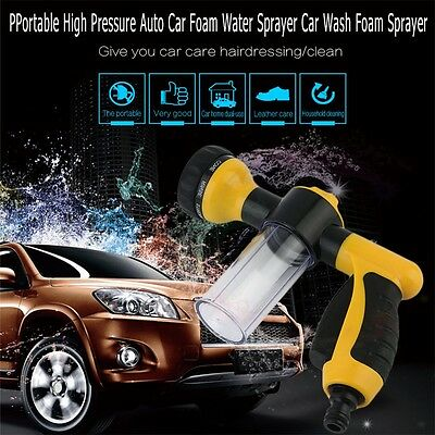 Portable High Quality Auto Car Foam Water Sprayer Car Wash cleaning Spray SM