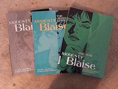 Modesty Blaise Collection - 5, 7 and 8 in the popular series by Peter O' Donnell