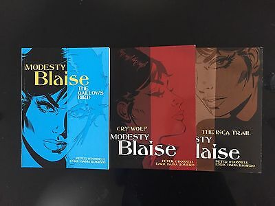 Modesty Blaise Collection - 9, 10 & 11 in the popular series by Peter O' Donnell