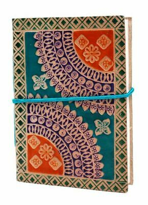 Leather Notebook With Mandala Design - High Quality Leather Journal & Diary