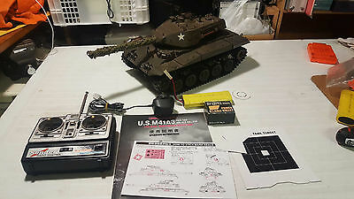 Heng long 1/16 M41A3 WALKER BULLDOG  bb Firing RC Tank 1:16 henglong remote