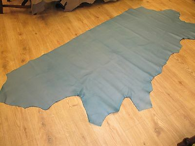 Beautiful Turquoise/Teal Half Hide Ref. STU 39 Great for upolstery & Various.
