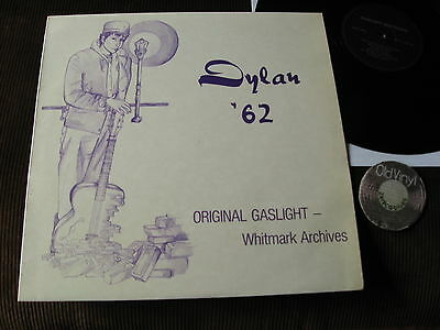 Bob Dylan '62 Original Gaslight - Whitmark Archives Germany | EX