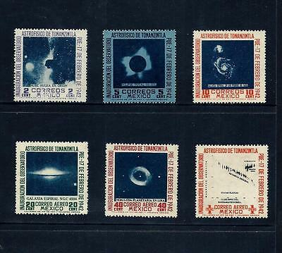 MEXICO _ 1942 'SPACE' SET of 6 _ mh ____(480)