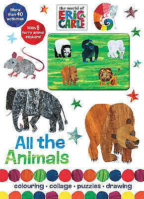The World of Eric Carle All the Animals, Parragon, New Book