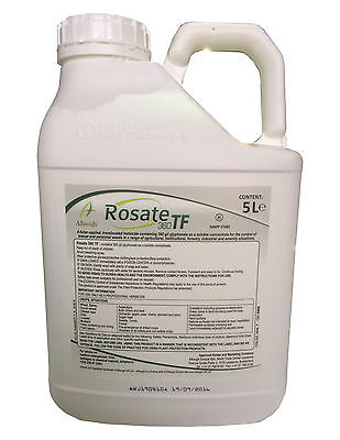 Very Strong Professional Weed Killer Rosate 360 Tf 5L Kill Grass And Broadleaf W