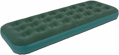 Royal Single Flock Airbed with Pump – Green – 200171