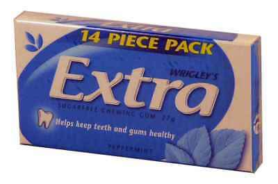Extra Peppermint (24 x 14 piece packs Display Unit)