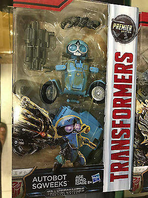 Transformers The Last Knight Premier Deluxe Sqweeks NEW