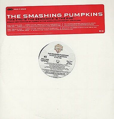 """Smashing Pumpkins, The End Is The Beginning.., NEW US promo dbl 12"""" vinyl single"""