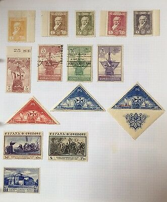Spain Stamps 1930, MNH, Used,  Muestra
