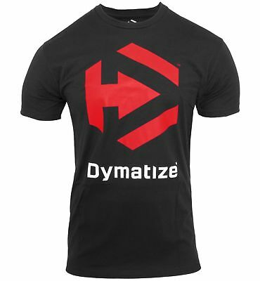 Dymatize Nutrition T-Shirt Bodybuilding Jersey TShirt T Shirt Workout - BLACK