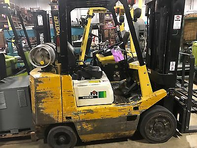 5000 Pound LPG/Propane Forklift-BUDGET FORKLIFT-WE WILL SHIP! Lifts 15 feet-S/S