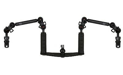 Underwater Tray Brackets GoPro Mount with Carbon Arms YS-Adapter FLEX-ARM 20126
