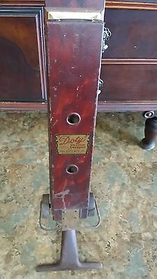 """Antique 1900's """"the Doty"""" Bellow Vacuum Sweeper"""