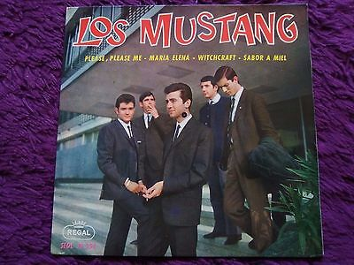 "Los Mustang ‎– Please Please Me ,  Vinyl, EP, 7"", 1964 , Spain ,SEDL 19.354"