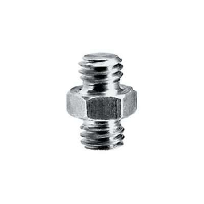 """Short Stud Adapter 3/8"""" Male and 3/8"""" Male 