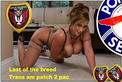 PONTIAC    TRANS AM LAST OF THE BREED  2002  Patch  1967 2 pack