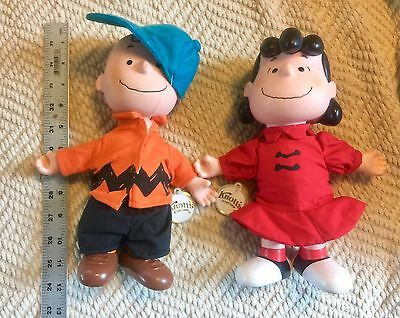 "1950s Peanuts Charlie Brown Lucy 10"" Doll United Feature Syndicate Knott's Berry"