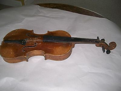 Violin Jacobus Stainer 1/2 size for restoration
