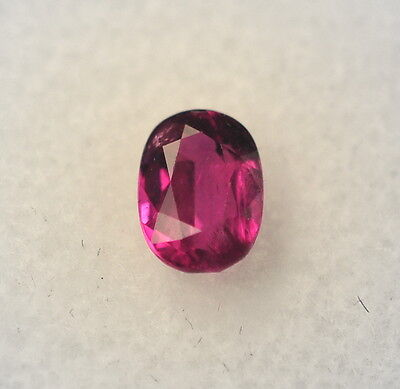 Natural 1.18 Carat Genuine Red Ruby Loose Stone Oval gemstone