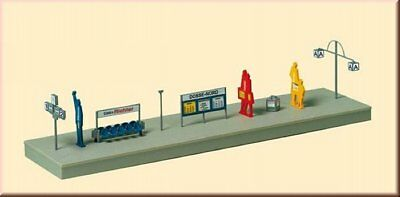 Auhagen 43646 Platform facilities TT Construction Set