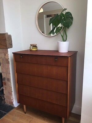 Retro Vintage Avalon Yatton Chest Of Drawers