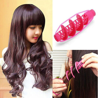 Saling 2Pcs Wave Curlers Curling Hair Styling Tools Curls Rollers Hair Accessory