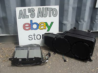 05-09 Ford Mustang Coupe Subwoofer x2 1000w Amplifier OEM 4R3T-19A067-AE Shaker