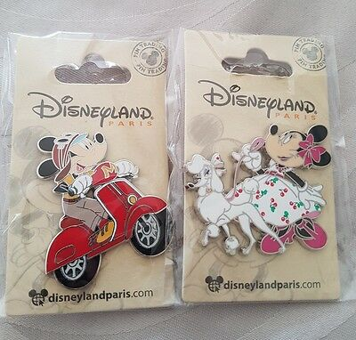 pin's disney mickey et minnie paris