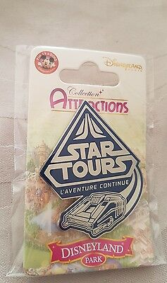 pins disney attractions star tour 2 disneyland paris star wars