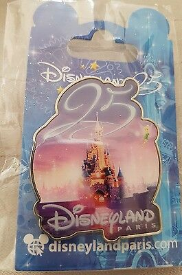 pins disney disneyland paris 25 ans chateau