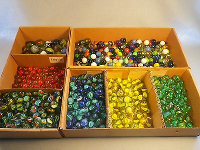 Marbles Collection Huge LOT Over 10 Pounds Assorted Lots Of Pics LOOK!!