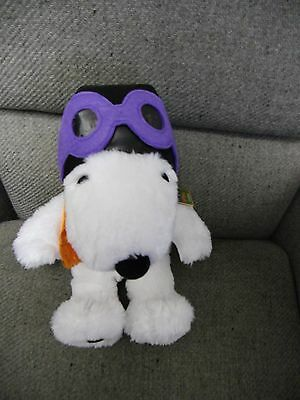 Snoopy Hallmark Stuffed Plush 40 Years Great Pumpkin Charlie Brown Peanuts
