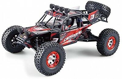 rtr Electric Car RC Buggy Scale 1/12 rock 25+MPH Desert Car 4x4 Red New
