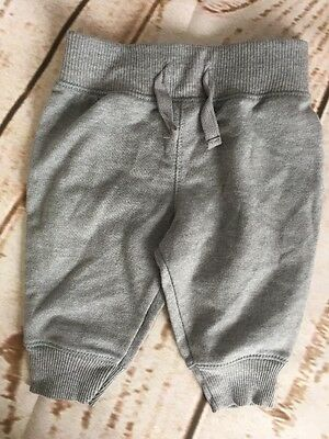 Circo Target Unisex Baby 0-3 mth, 3-6 mth Jogger Pants Gray With Drawstring NWOT