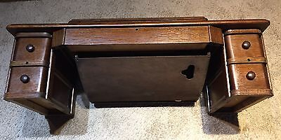 BEAUTIFUL Antique singer sewing machine cabinet top for treadle base.