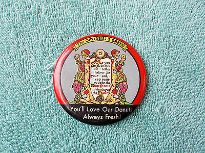 "SCARCE—2 ¼"" Celluloid ""The Optimist's Creed"" Pocket Mirror"