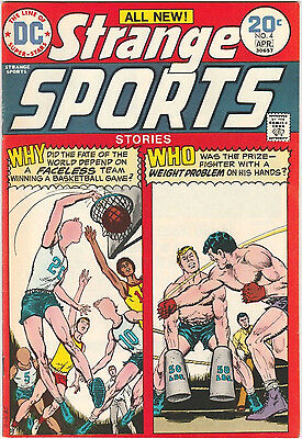 Strange Sports Stories #4 FN/VF 1974 DC Comics Basketball Dick Giordano Novick