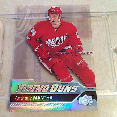 16-17 Ud Upper Deck Anthony Mantha Acetate Young Guns Rc Rare Ssp
