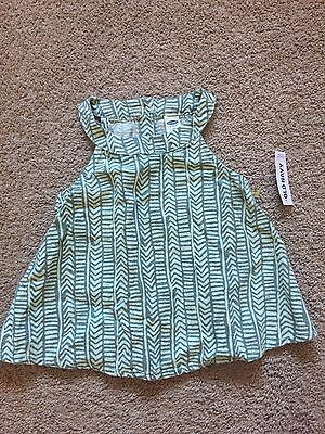 NWT Toddler Girls Linen OLD NAVY Shirt Size 3T NEW WITH TAGS
