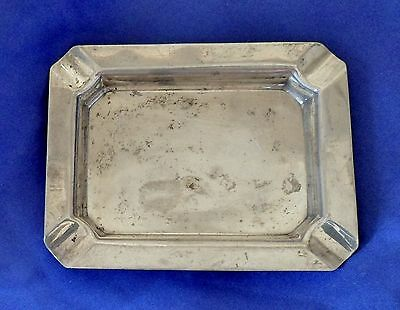 Sterling Silver Ashtray