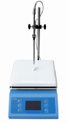 Digital Laboratory Magnetic Stirrer Hotplate, 19cm x 19cm, 600W, 0-1600rpm