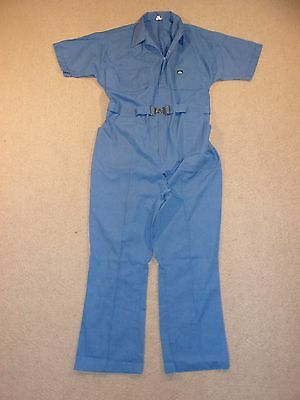 #2947, Men's American Classic Short Sleeve Jumpsuit Coveralls, 46 Regular, USA!