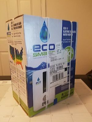 Ecosmart ECO 11 Best Electric Tankless On Demand Hot Water Heater Whole House!
