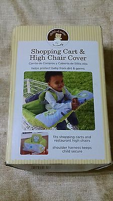 Carter's Child of Mine Shopping Cart and High Chair Cover Green