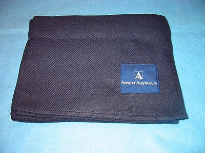 ANSETT AUSTRALIA AIRLINES BLANKET with logo New