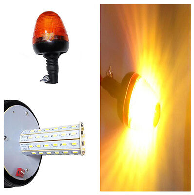 Forklift Amber LED Warning Emergency Flash Rotatin Beacon Strobe Light for Car
